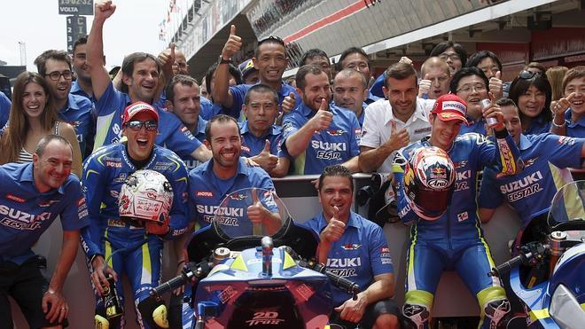 Suzuki da la campanada en Montmeló