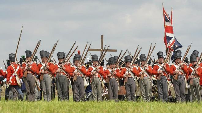 Europa conmemora la batalla de Waterloo con un mensaje de reconciliación