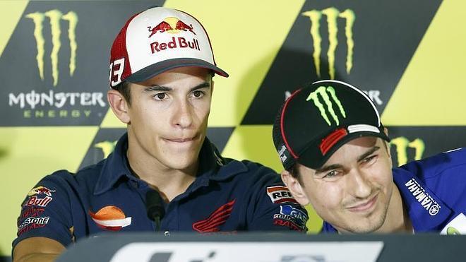 Lorenzo: «Márquez es muy agresivo pero eso es cosa de él»