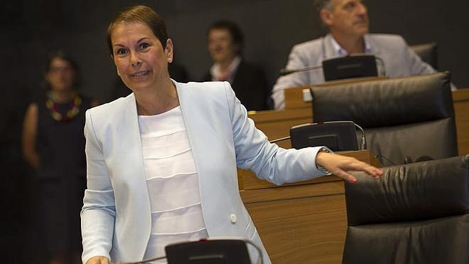 La periodista 'abertzale' Uxue Barkos, nueva presidenta de Navarra