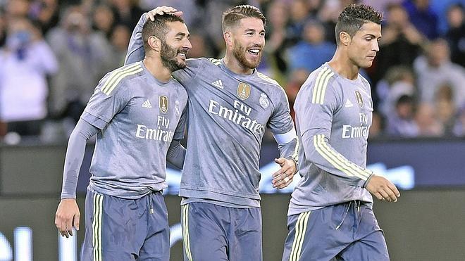 El Real Madrid ofrece mejor color