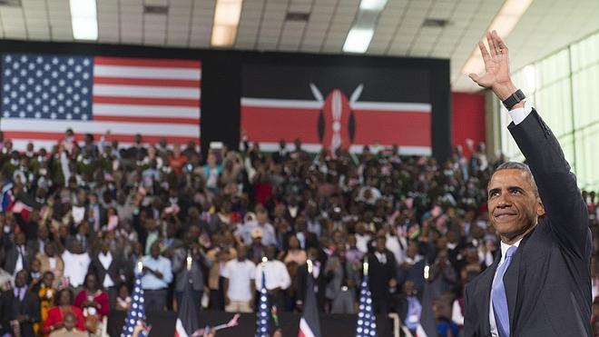 Obama insta a los jóvenes kenianos a forjar un futuro mejor para su país