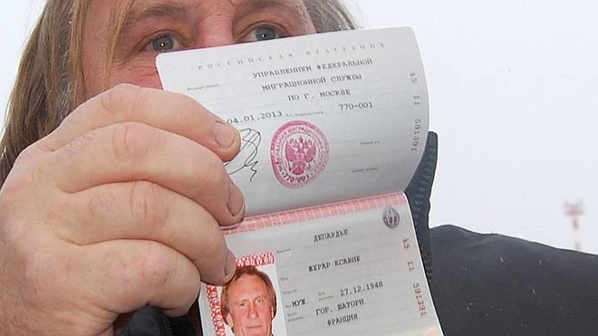 Ucrania prohíbe la entrada al actor Gerard Depardieu por cinco años