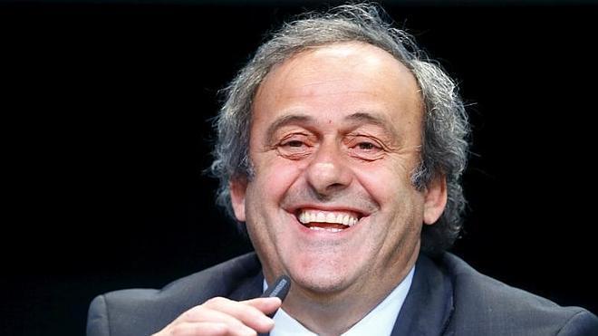 Platini, 'pole position' del gran premio de la FIFA