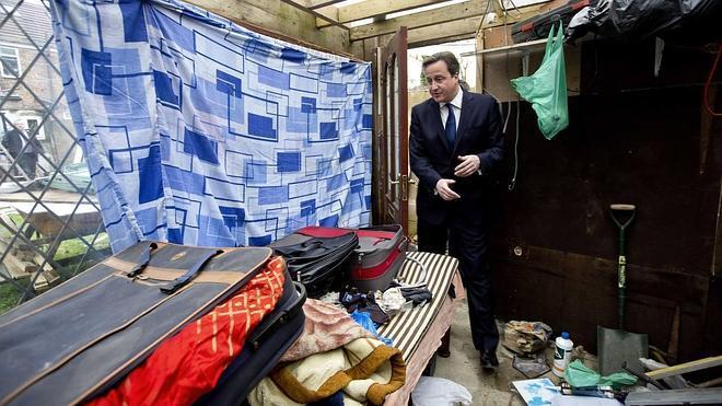 Cameron dice que protegerá al Reino Unido de la «plaga» de inmigrantes