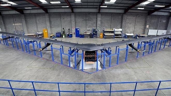 'Aquila', el dron de Facebook para acceder a internet en zonas remotas