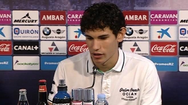 Vallejo: «Fichar por el Madrid ha sido la decisión más importante de mi vida»