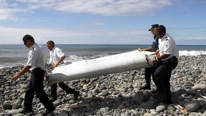 Los restos de avión hallados en el Índico son del vuelo MH370 de Malaysia Arlines