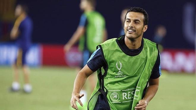 Pedro: «No sé si ha sido mi último partido con el Barça»