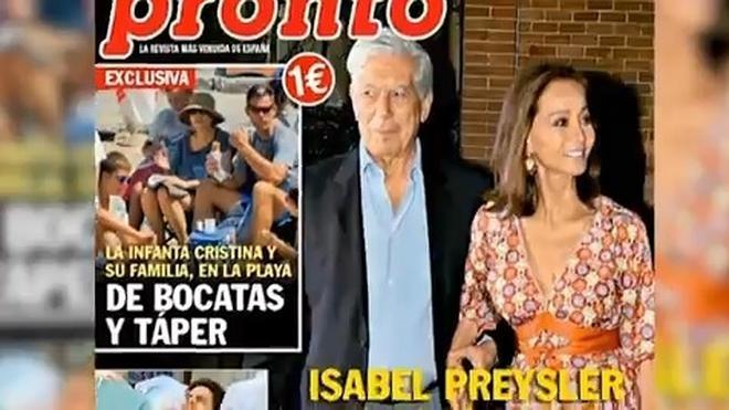 Campanas de boda para Isabel Preysler y Vargas Llosa