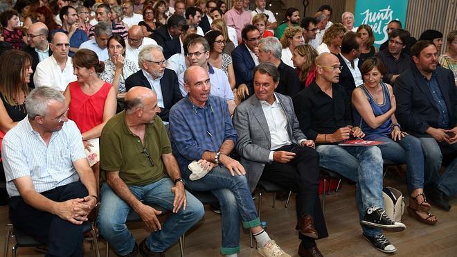 Juntos por el Sí reivindica un Estado sin recortes que derrote «a la España de Aznar»