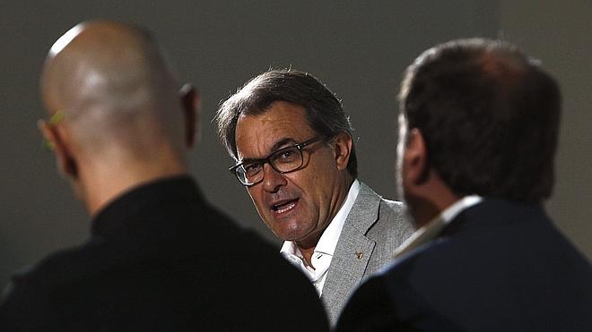 Artur Mas: «No se nos ha ido la olla, nos hemos topado con el muro del 'no'»