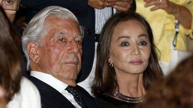 Preysler y Vargas Llosa, en el Teatro Real