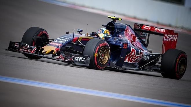 Sainz se mareó al principio de la carrera