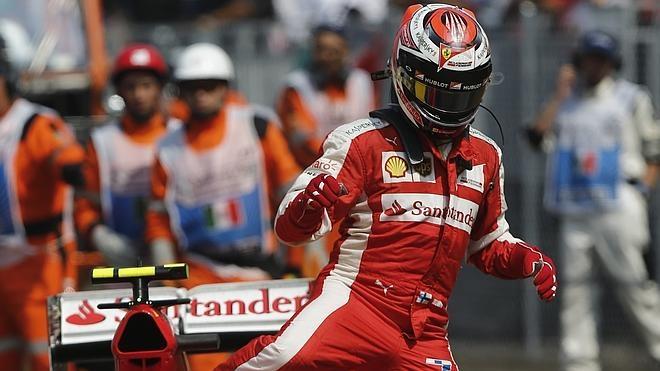 El lento ocaso de Kimi Räikkönen