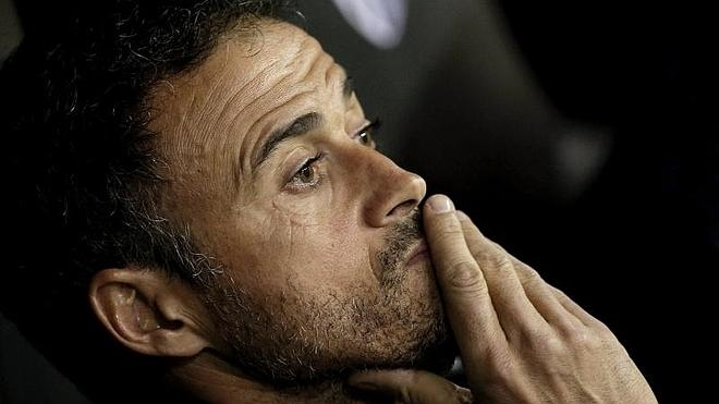 Luis Enrique: «El fútbol no ha premiado el esfuerzo que hemos hecho»