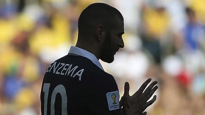 Benzema y los 'Bleus', una historia tormentosa
