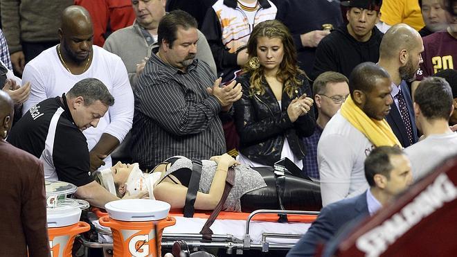 LeBron James manda al hospital a la mujer del golfista Jason Day