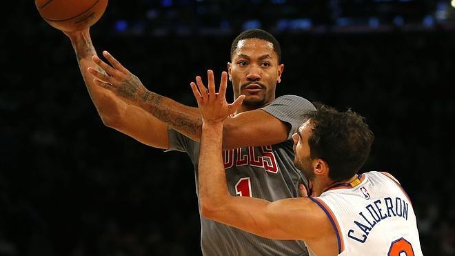 Los Knicks de Calderón superan a los Bulls