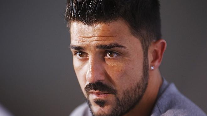 David Villa: «Me gustaría volver a la selección, pero está muy complicado»