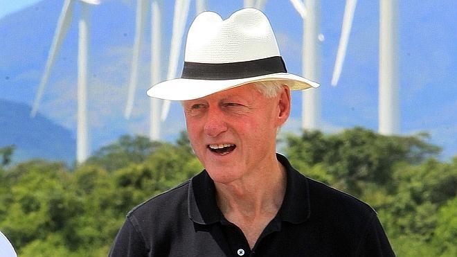 La casa en Arkansas de Bill Clinton, pasto de las llamas