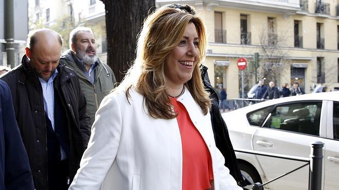 Susana Díaz rechaza la idea de Sánchez de retrasar el congreso del PSOE