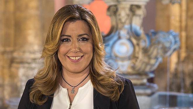 Susana Díaz: «Lecciones ninguna, Iglesias»