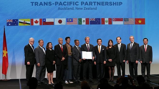 Doce países firman en Nueva Zelanda el acuerdo Transpacífico de Cooperación Económica