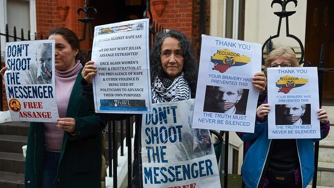La ONU considera ilegal la detención de Assange