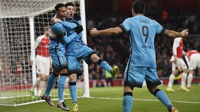 El Barça asalta el Emirates Stadium