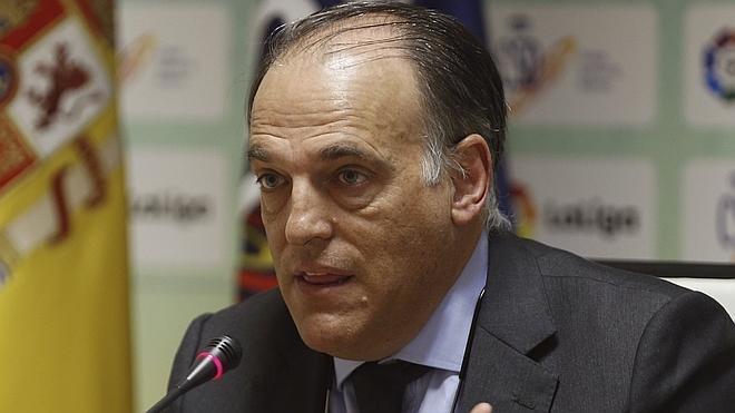 Tebas: «No me gustaba ningún candidato a la presidencia de la FIFA»
