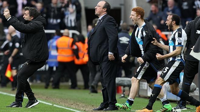 Rafa Benítez aún no gana con el Newcastle