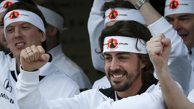 Fernando Alonso: «He estado descansando y tengo muchísimas ganas de volver a ponerme al volante»