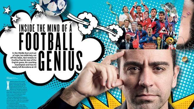Xavi: «Mi objetivo es entrenar un día al Barcelona»