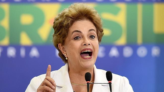 Rousseff acusa a su vicepresidente de ser «el líder de la conspiración»