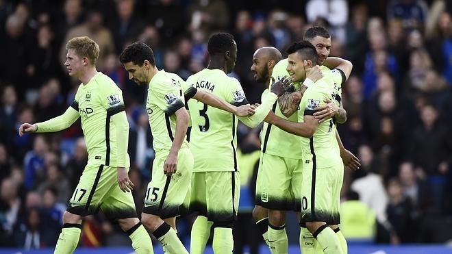 Agüero, 'hat-trick' para meter miedo al Madrid