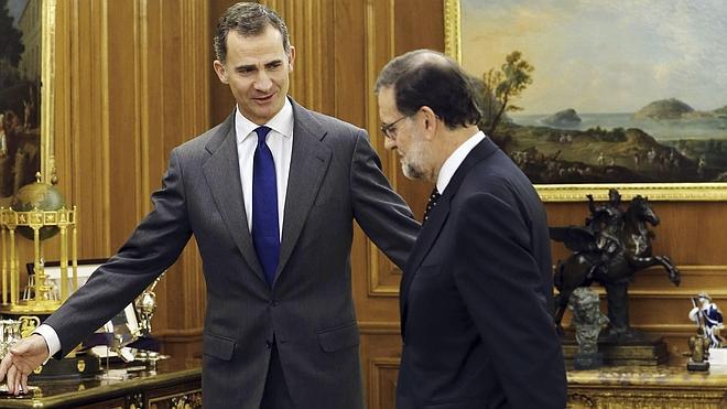 El Rey concluirá con Rajoy la ronda de consultas con los partidos