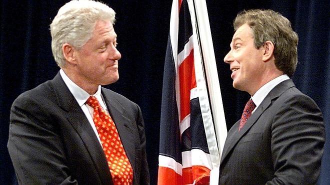 Bill Clinton y Tony Blair unirán fuerzas para defender la permanencia británica en la UE