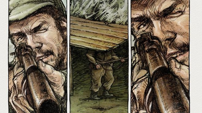 La vida del Che, ilustrada en viñetas
