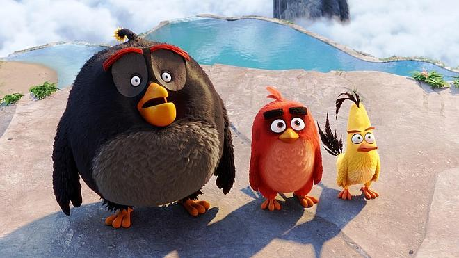 Los personajes de 'Angry Birds' adquieren vida propia y dan el salto a la gran pantalla