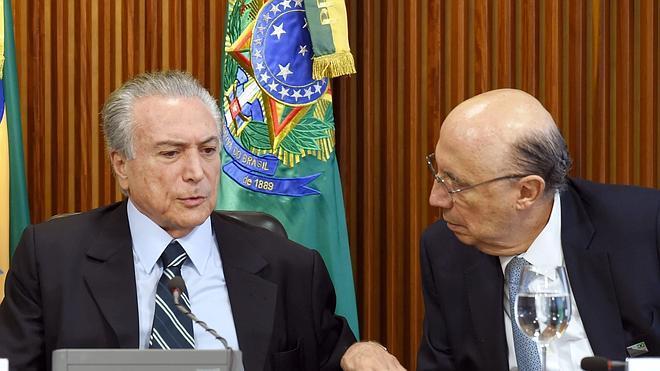 Temer planea duros recortes para lograr un cambio de rumbo en la economía brasileña