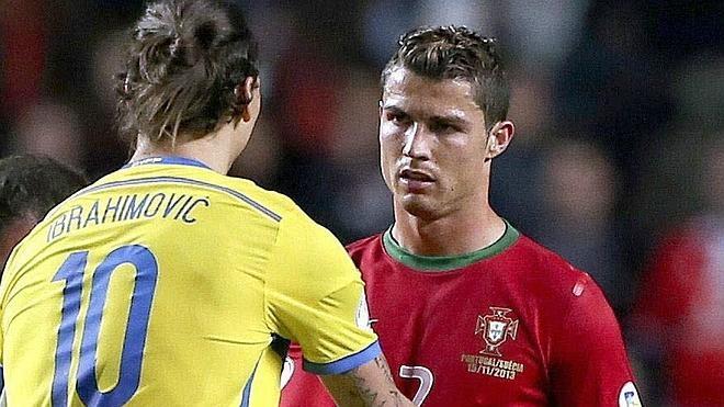 Ibrahimovic y Cristiano Ronaldo, a por el récord de Platini