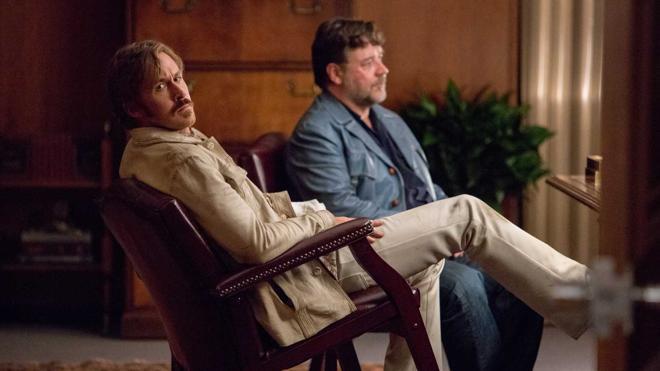 Russell Crowe y Ryan Gosling llegan a la cartelera con 'Dos buenos tipos'