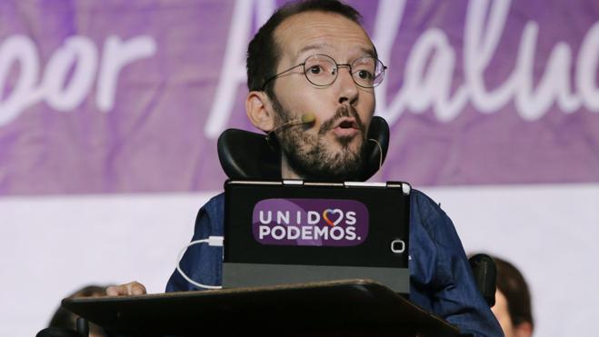 Echenique recuerda que la Justicia ha negado que Venezuela financie a Podemos