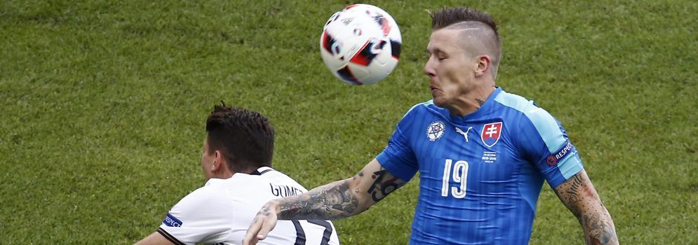 Alemania saca el rodillo