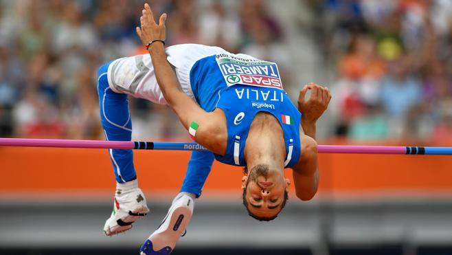 Gianmarco Tamberi baja para Río por lesión