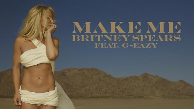 Britney Spears lanza un avance de 'Make me', su nuevo disco