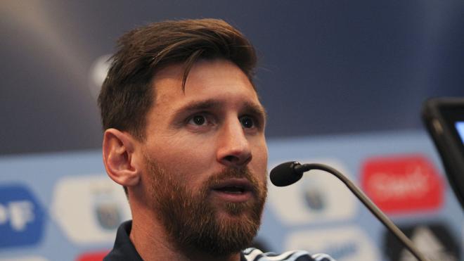 Messi acorta sus vacaciones para preparar la Supercopa de España