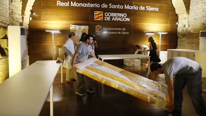 El Gobierno aragonés seguirá luchando para que Cataluña devuelva el resto de las obras de Sijena