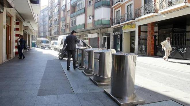Encuentran varios restos humanos al limpiar un piso en el centro de Valladolid